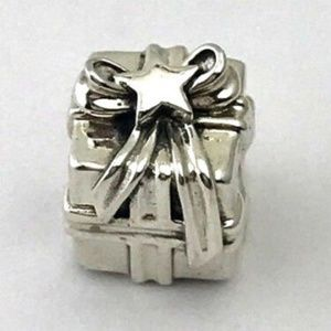 PANDORA Gleaming Gift Sterling Silver Charm